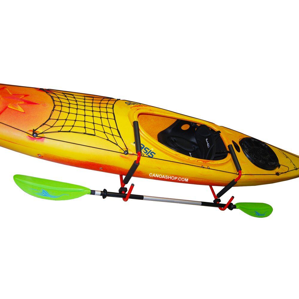 porta canoa a muro