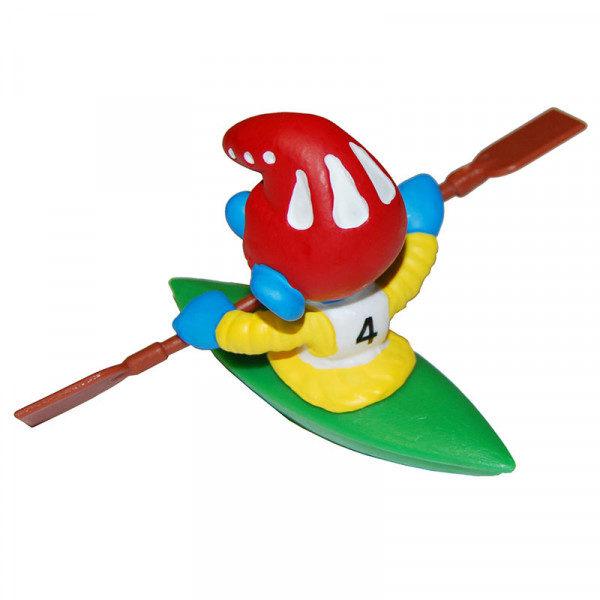 Puffo in Kayak