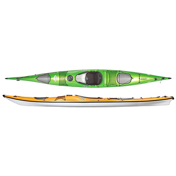Kayak in Prilite